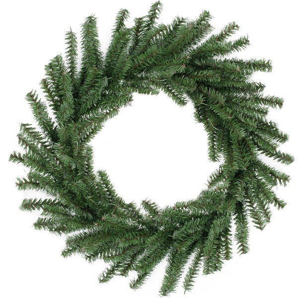 "16"" Mini Pine Artificial Christmas Wreath - Unlit - green"