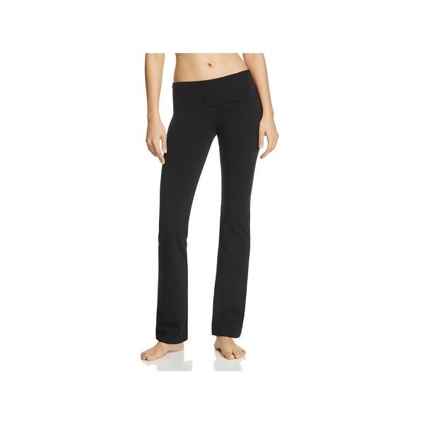 13652855d2 Shop Hard Tail Womens Yoga Pants Fold Over Boot Leg - Free Shipping ...