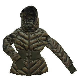 Link to BCBGMaxazria Emilia Olive Green Down Puffer (S) Similar Items in Women's Outerwear