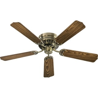 "Quorum International Q11525 Indoor 52"" Ceiling Fan from the Custom Hugger Collection"