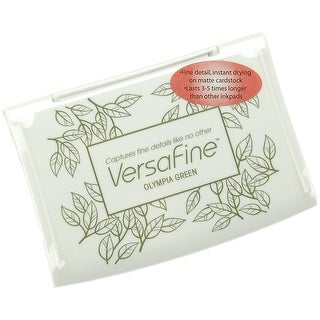 Versafine Pigment Ink Pad-Olympia Green