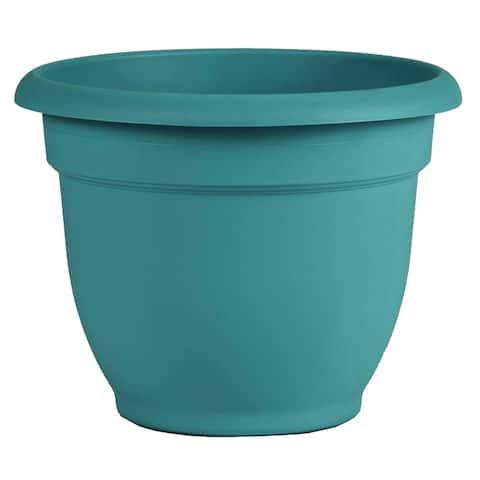 """Bloem Ariana Self Watering Planter 16"""" Bermuda Teal Green - 16"""