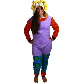 Rugrats Angelica Women's Cosplay Union Suit (4 options available)