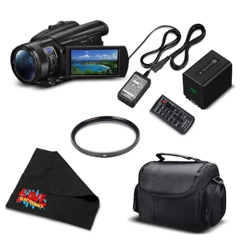 Sony FDR-AX700 4K HDR Camcorder w/3.5 Inch LCD (Intl Model) FDR-AX700/B- Bundles