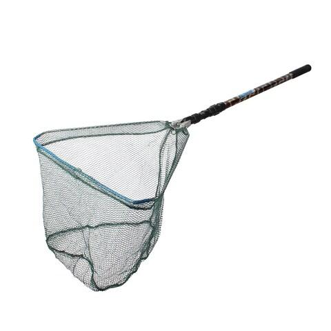 3 Sections Telescopic Round Hole Handle Fish Landing Net