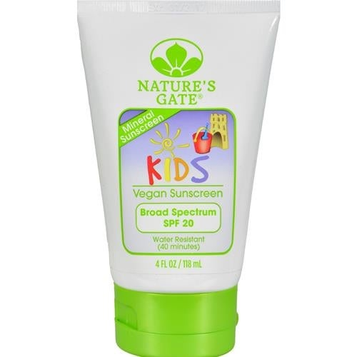 Nature's Gate - Mineral Kids Block Spf 20 Fragrance Free ( 1 - 4 FZ)