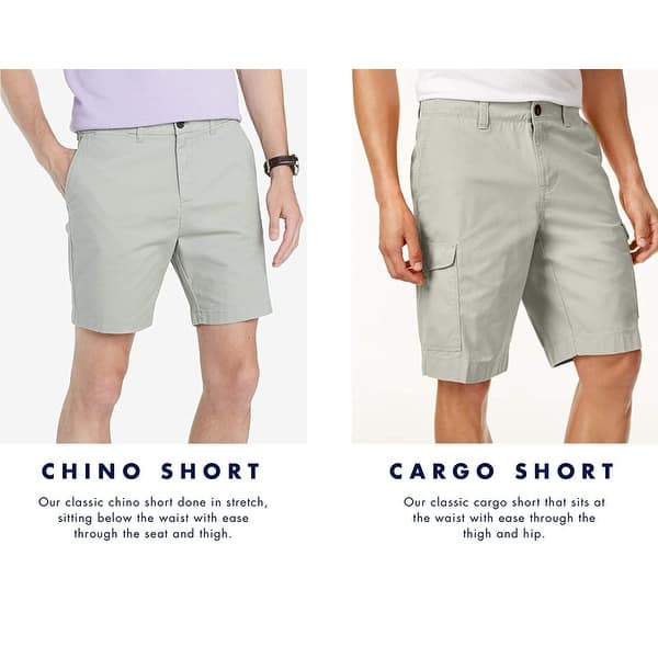 Tommy Hilfiger Mens Casual Stretch Chino Shorts