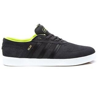Adidas Silas Vulcan ADV Men's - Black/Yellow - 11.5 d(m) us