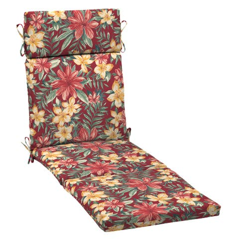 Arden Selections Outdoor Chaise Lounge Cushion