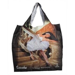 "Sansha Foldable Ballerina 15"" x 15"" Shopping Bag - One size"