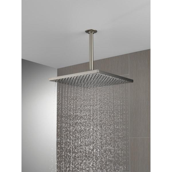 Delta Universal Showering Components Single-Setting Metal Raincan Shower Head (52159-SS25). Opens flyout.