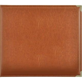 "Kaisercraft Leather D-Ring Album 12""X12""-Tan"