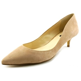 INC International Concepts Danne Pointed Toe Suede Heels