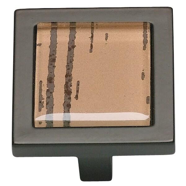 Atlas Homewares 230 Spa 1-3/8 Inch Square Cabinet Knob