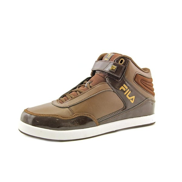 Fila Displace 2 Men Round Toe Synthetic Brown Sneakers