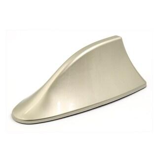 Universal Champagne Shark Fin Shape Design Car Roof Adhesive Decorative Antenna
