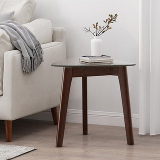 Link to Wasco Indoor Wood and Glass End Table by Christopher Knight Home Similar Items in Living Room Furniture