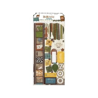 Bo Bunny Safari Chipboard
