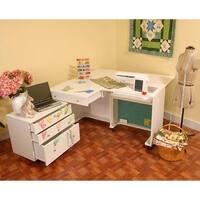 Kangaroo Kabinets - Kangaroo & Joey Sewing Cabinet-White