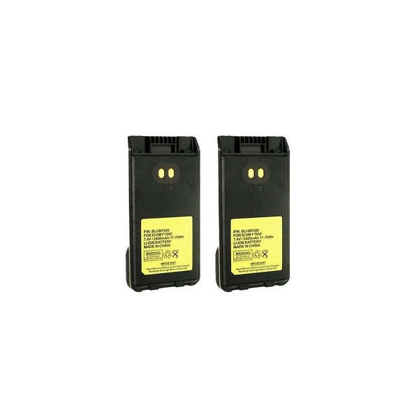 Battery for Icom BP280 (2-Pack) Battery for Icom BP-280