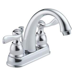 Delta Faucet B2596LF Two Handle Centerset Lavatory Faucet Chrome