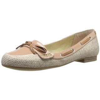 Easy Spirit Womens Kaelea Patent Loafer Boat Shoes