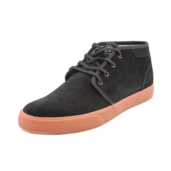 DC Shoes Studio Mid Round Toe Suede Skate Shoe