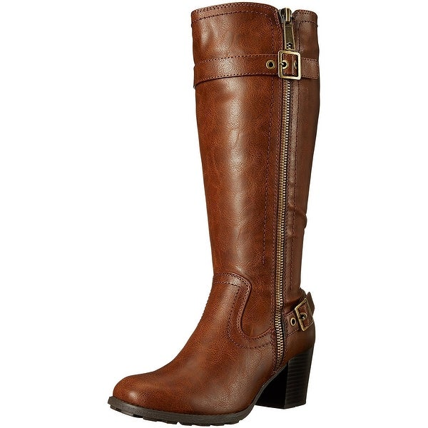 White Mountain Womens Dover Closed Toe Mid-Calf Fashion Boots