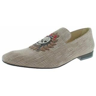 Donald J Pliner Pazano Men's Smoking Loafer Shoes
