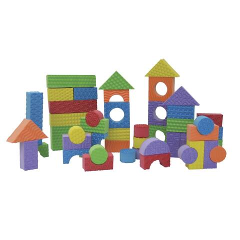Edushape Textured Blocks, Set of 80