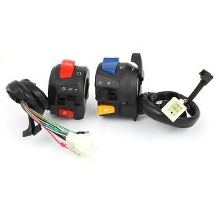 Unique Bargains Motorcycle Handlebar Turn Signal Headlight Electrical Switch for Suzuki