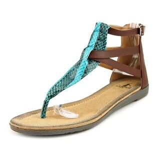 Corkys Fisherman Open Toe Synthetic Thong Sandal