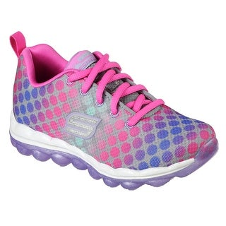 Skechers 80125L GYMT Girl's SKECH-AIR - DOTTY DAZE Shoes