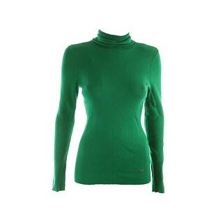 Lauren by Ralph Lauren Ribbed Turtleneck Sweater - L