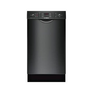 Bosch SPE53U5 18 Inch Wide 9 Cu. Ft. Energy Star Rated Built-In Dishwasher with ActiveTab Tray