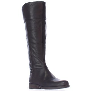 Franco Sarto Christine Wide Calf Riding Boots, Black