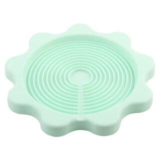 Kitchen Desktop Plastic Heat Resistant Teapot Bottle Kettle Coaster Pale Green
