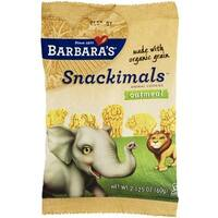 Barbara's Bakery - Organic Oatmeal Snackimals Cookies ( 18 - 2.125Z)