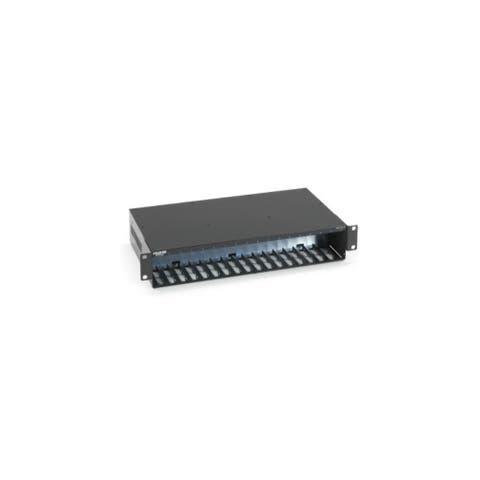 Black Box LHC018A-AC-R2 Miniature Media Converter Power Tray Wit Black Box LHC018A-AC-R2 Miniature Media Converter Power Tray