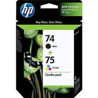 Link to HP 74/75 Original Ink Cartridge Combo Pack - black Similar Items in Printers & Supplies
