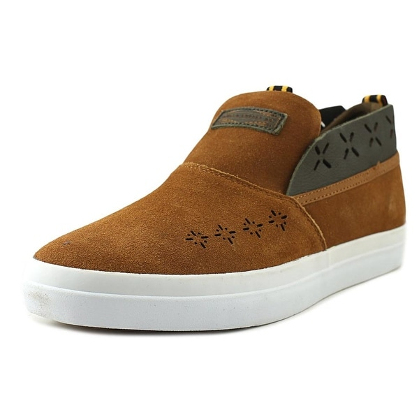 Diamond Supply Co Folk Slip-On Brown Loafers