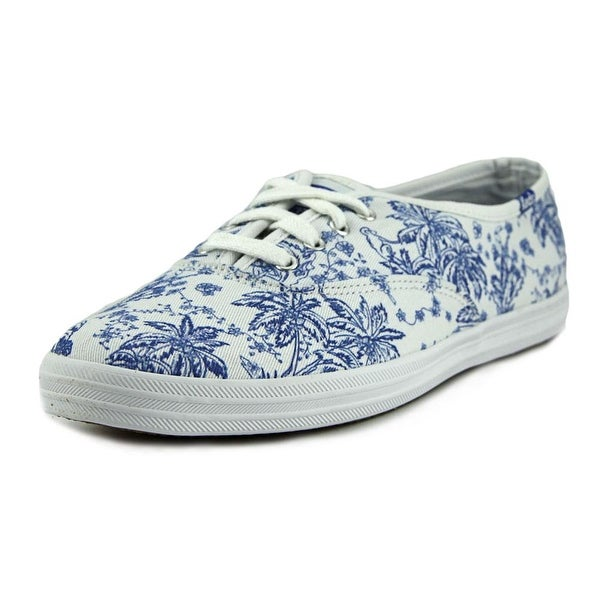 Keds CH Jungle Toile Women  Round Toe Canvas Blue Sneakers