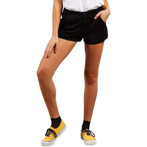 Volcom Womens Shorts Cotton High Rise - S