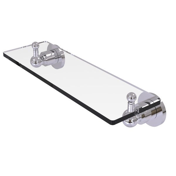Allied Brass Astor Place Glass Vanity Shelf with Beveled Edges