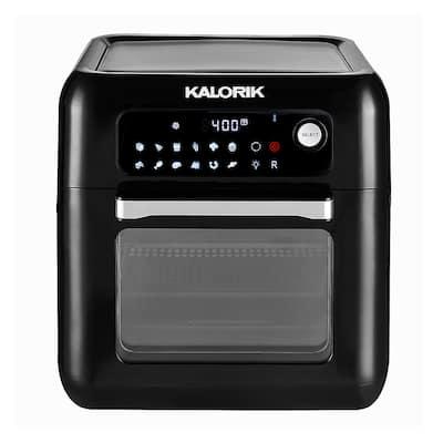 KALORIK 10 Quart Digital Air Fryer Oven, Black Refurbished