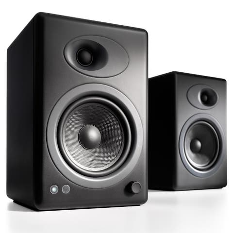 Audioengine A5+ Classic Powered Bookshelf Speakers - Pair