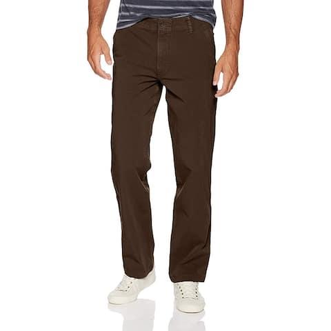 Dockers Downtime Khaki Smart 360 Flex Pants, Smokey Hazelnut, 36W x 32L