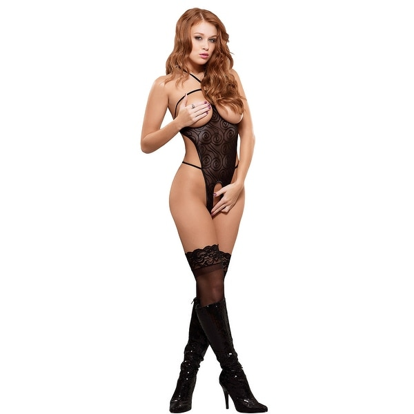2974c2e43f Shop Cupless And Crotchless Mesh Teddy