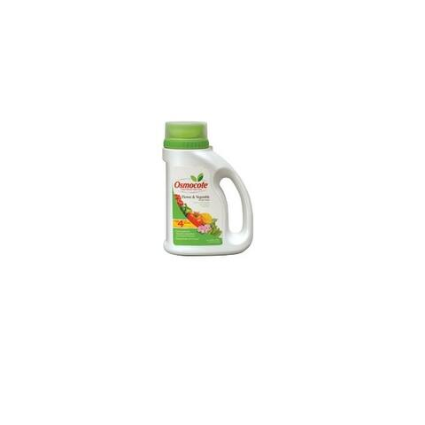 Osmocote 277860 Flower & Vegetable Smart-Release Plant Food, 4.5 Lbs