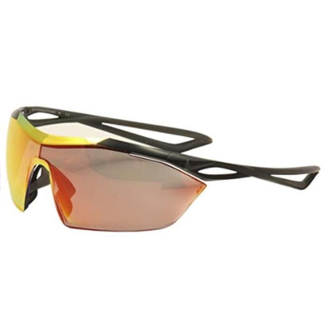 Teórico Vendedor Reina  Nike Mens Vaporwing Elite M Mt Black/Speed Tint Uml Red Lens Sunglasses -  Overstock - 23573431